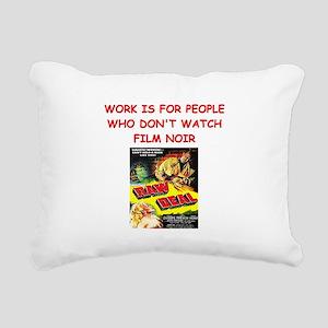 NOIR1 Rectangular Canvas Pillow