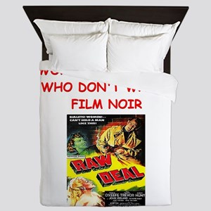 NOIR1 Queen Duvet