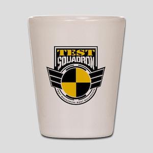 TEST Squadron Shot Glass