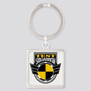 TEST Squadron Square Keychain