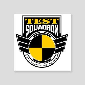 """TEST Squadron Square Sticker 3"""" x 3"""""""