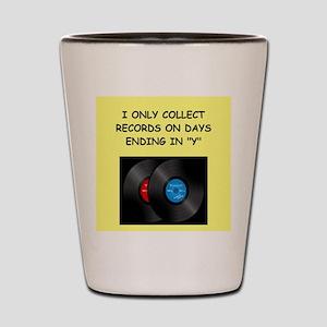 RECORDS5 Shot Glass