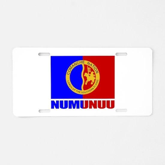 Comanche (Numunuu) Aluminum License Plate
