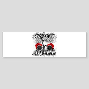 Rock Roll Classic Bumper Sticker