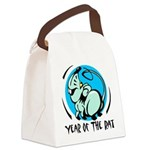 Yr of Rat Canvas Lunch Bag
