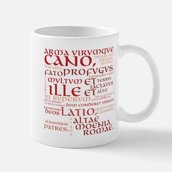 Vergil Red Mug Mugs