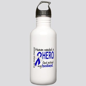Colon Cancer HeavenNee Stainless Water Bottle 1.0L