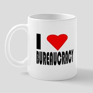 I Love Bureaucracy Mug