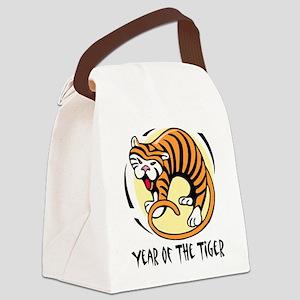 Yr of Tiger Canvas Lunch Bag
