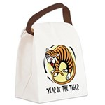 Yr of Tiger Canvas Lunch Bag