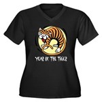 Yr of Tiger Plus Size T-Shirt