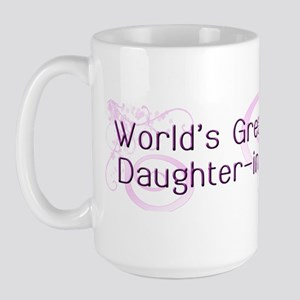 World's Greatest Daughter-in-Law Large Mug