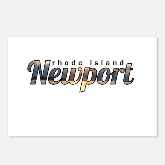 Newport Rhode Island Postcards (Package of 8)