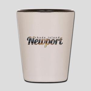 Newport Rhode Island Shot Glass