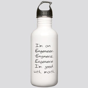 I'm Good with Math (I' Stainless Water Bottle 1.0L