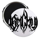 DJ Demchuk Shadow Logo Magnets