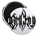 DJ Demchuk Shadow Logo Magnets