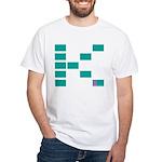 Kake Multimedia K on White T-Shirt