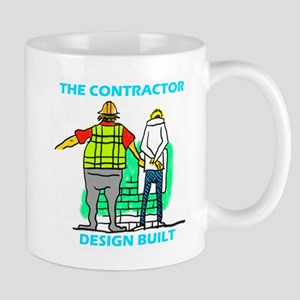 The Contractor Design Built Mugs