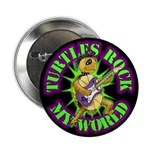 100 Pack - Turtles Rock My World Buttons