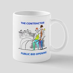 The Contractor Public Bid Opening Mugs