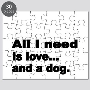 All I need is love Puzzle
