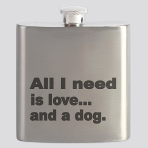 All I need is love Flask