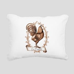 Poulet Rectangular Canvas Pillow