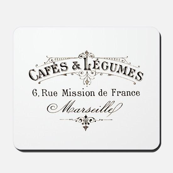 Cafe Marseille Mousepad