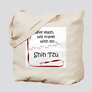 Shih Tzu Travel Leash Tote Bag