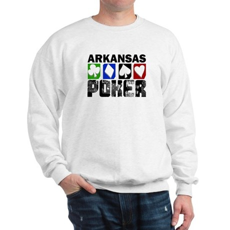 Arkansas Poker Sweatshirt
