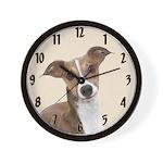 Italian Greyhound Wall Clock