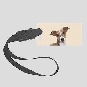 Italian Greyhound Small Luggage Tag