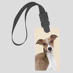 Italian Greyhound Large Luggage Tag