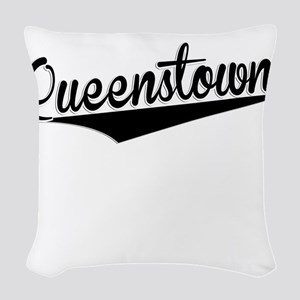 Queenstown, Retro, Woven Throw Pillow