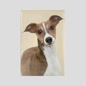 Italian Greyhound Rectangle Magnet