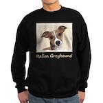 Italian Greyhound Sweatshirt (dark)