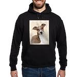 Italian Greyhound Hoodie (dark)