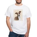 Italian Greyhound White T-Shirt