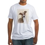Italian Greyhound Fitted T-Shirt