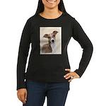 Italian Greyhound Women's Long Sleeve Dark T-Shirt