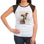 Italian Greyhound Junior's Cap Sleeve T-Shirt