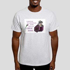 Great Dane (Blue Merle) Light T-Shirt