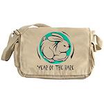Yr of Hare b Messenger Bag