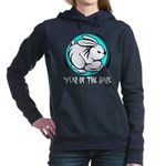 Yr of Hare b Women's Hooded Sweatshirt