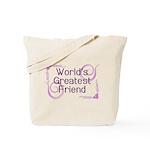 World's Greatest Friend Tote Bag