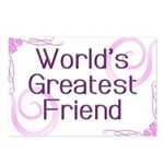 World's Greatest Friend Postcards (Package of 8)
