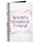 World's Greatest Friend Journal