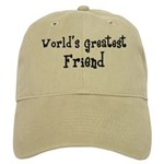 World's Greatest Friend Cap