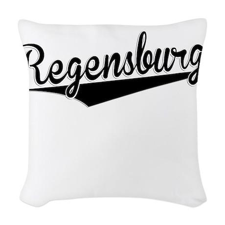 regensburg retro woven throw pillow by giftmonster. Black Bedroom Furniture Sets. Home Design Ideas